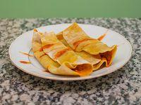 Tacos vegetarianos (2 unidades)