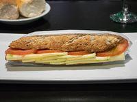 Sándwich caprese integral