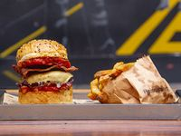 Saul pork burger