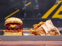 Cheese Pinkman burger
