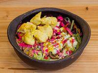 Bowl curry con pollo