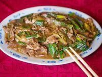Carne mongoliana (con ají)