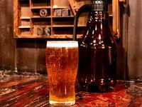 Botellón descartable de cerveza artesanal 2 L