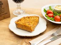 Tarta de trigo serraceno de zanahoria y calabaza