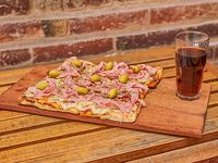 Pizza + gaseosa 1.5L