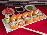 Ebi sake roll  (10 piezas)