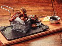 Buffalo wings basket