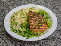 Salmón parmesan salad