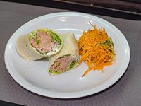 Wrap tuna cream