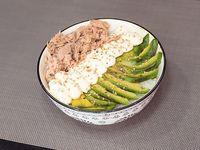 Sushi salad tuna