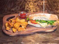 Sandwich de Queso provolone