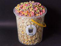 Balde de popcorn con cereal Froot Loops (150 gr)