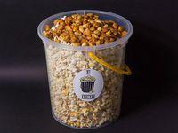 Balde de popcorn con maní confitado (250 gr)