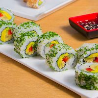 California vegano roll (8 bocados)
