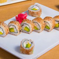 California ebi cheese roll (8 bocados)