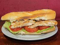 Sándwich de pollo clásico