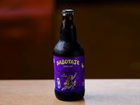 Cabesas Bier Sabotaje (stout)  500 ml