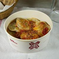 Sorrentinos integrales con salsa