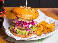 Lupita style burger
