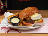 Chilena style burger