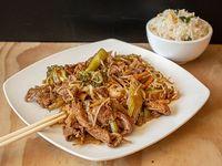 Colación - Chapsui de carne con arroz chaufan