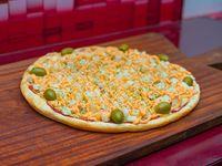 Pizza con palmitos (8 porciones)