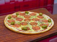 Pizza calabresa (8 porciones)