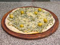 Pizza con verdura