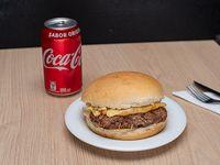 Promo - Hamburguesa + bebida en lata