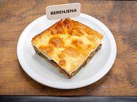 Tarta de berenjena (porción)