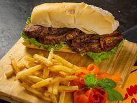 Promo 9 - 2 sándwich de vacío con papas fritas