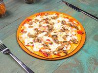 Pizza funghi (vegetariana)
