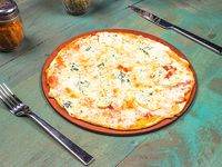 Pizza espichofa (vegetariana)