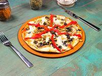 Pizza mediterránea (vegetariana)