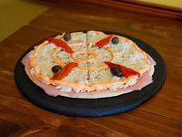 Pizza con palmitos