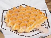 Waffle pop clásico