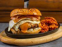 Latin burger