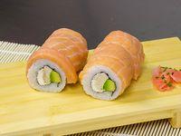 Roll de salmón