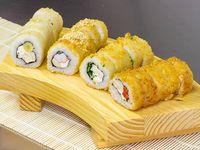 Premium rolls - 60 piezas fritas