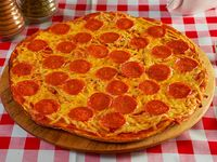 Pizza pepperoni pequeña