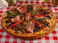 Pizza mediterránea pequeña