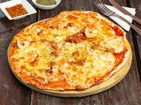 Pizza familiar marinera