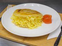 Arepa de queso gouda