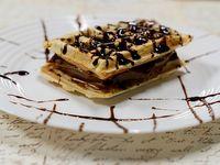 Waffle con dulce de leche (unidad)