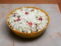 Torta helada de chocolate