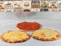 Promo 1 - 2 pizzetas con muzzarella + pizzeta común