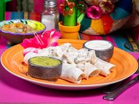 Plato para 1 - Burrito de pollo al roquefort