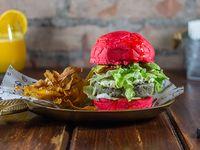 Hamburguesa burger de amor