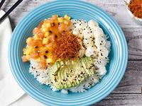 Poke sushi salad ahumango