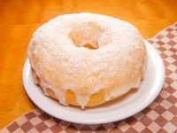 Donut coconut caramel
